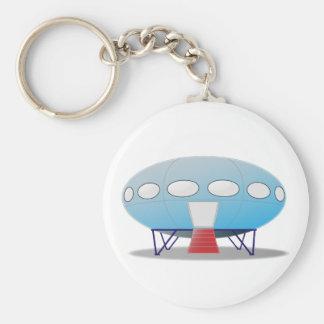 Futuro House Keychain