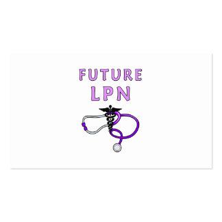 Futuro LPN Tarjetas De Visita