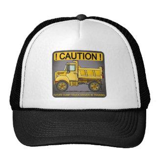 Futuro poco gorra del conductor de camión volquete