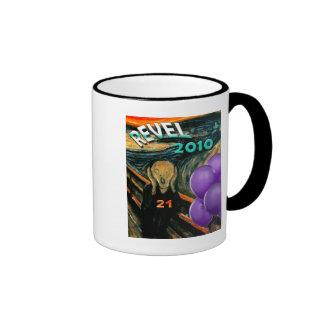 Fuuny 21st Birthday Ringer Coffee Mug