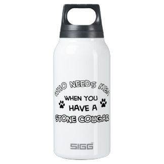 fuuny STONE COUGAR designs Insulated Water Bottle