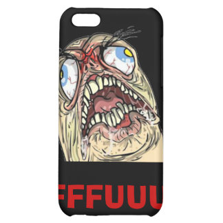 FUUUU Internet Meme Rage Face Iphone Cases iPhone 5C Covers