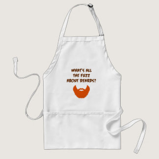 Fuzz About Beards Adult Apron
