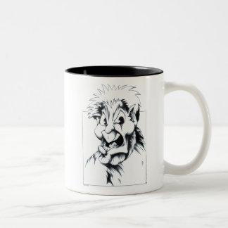 Fuzzball Two-Tone Coffee Mug