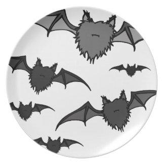 Fuzzy Bats Plate