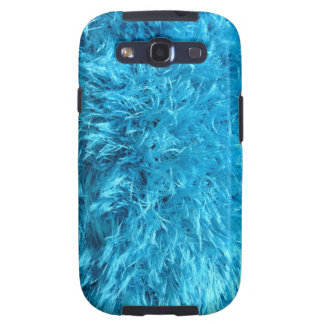 Fuzzy Blue Faux Fur Samsung Android Casemate Case
