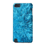 Fuzzy Blue Fur iPod Touch 5G Cases