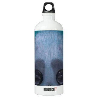 Fuzzy Bubble Panda Aluminum Water Bottle