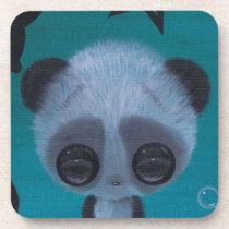 panda, sugar, fueled, sugarfueled, coallus, michael, banks, teal, fuzzy, bigeye, [[missing key: type_fuji_coaste]] com design gráfico personalizado