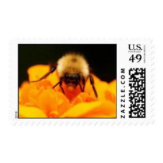 Fuzzy Bumble Bee Postage