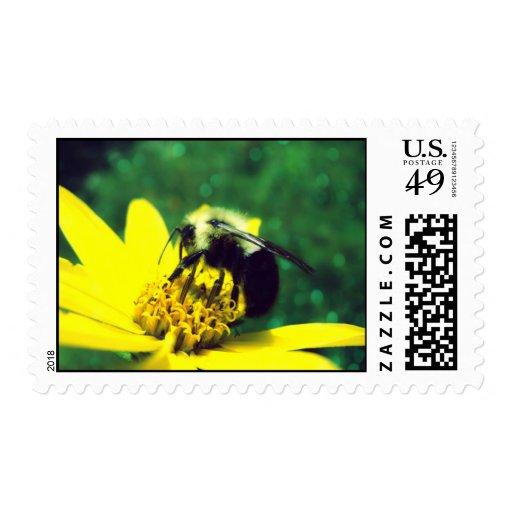Fuzzy Bumblebee Postage Postage