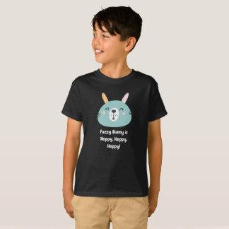 Fuzzy Bunny is Hoppy, Hoppy, Hoppy T-Shirt