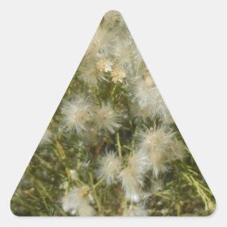 Fuzzy Bush Triangle Sticker