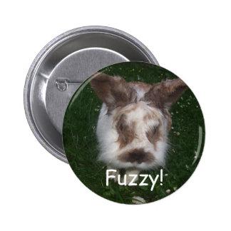 Fuzzy! Pinback Button