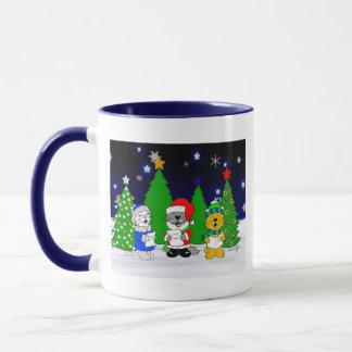 'Fuzzy Carolers' Mug