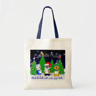 'Fuzzy Carolers' Tote Bag