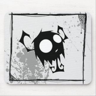 Fuzzy Cute Demon Cartoon Mouse Pad