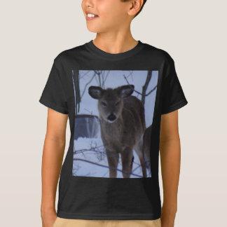 Fuzzy Deer T-Shirt