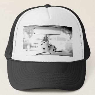 Fuzzy dice hat