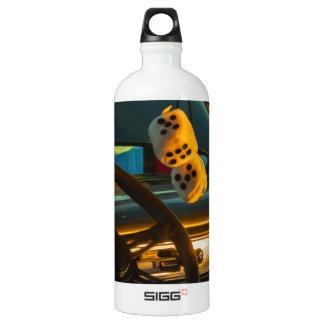 Fuzzy Dice Water Bottle