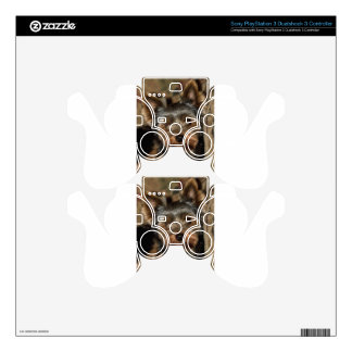 Fuzzy Face Yorkshire Terrier PS3 Controller Decals