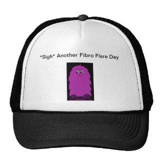 Fuzzy Fibro Flare Hat