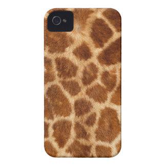Fuzzy Giraffe Fur Pattern Case-Mate iPhone 4 Case