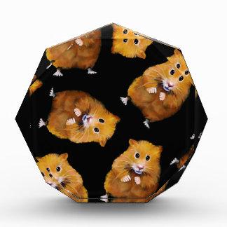 Fuzzy Hamster Pattern on Black, Original Art Award
