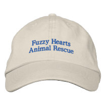 Fuzzy Hearts Adjustable Hat