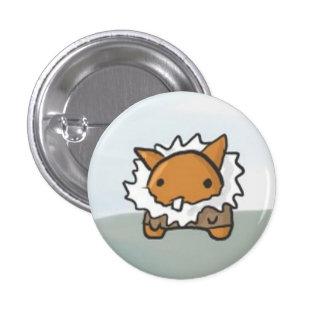 Fuzzy Jacket 1 Inch Round Button