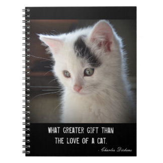 Fuzzy Kitten Notebook