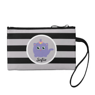 Fuzzy Kitty Coin Wallet