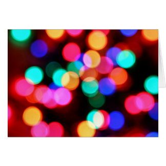 Fuzzy Lights Cards
