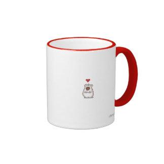 FUZZY LITTLE HEART by Boynton Coffee Mug