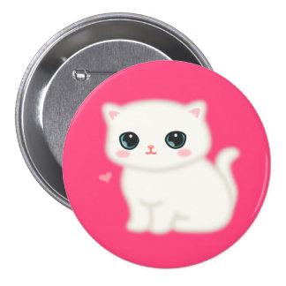 Fuzzy Little Thing 3 Inch Round Button