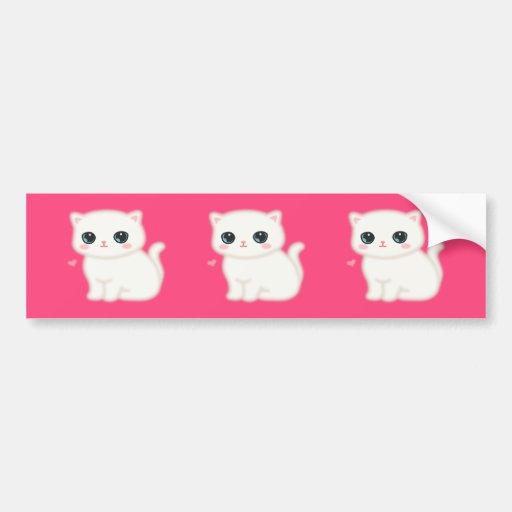 Fuzzy Little Thing Bumper Sticker