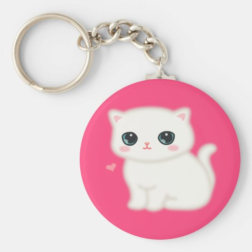 Fuzzy Little Thing Key Chain