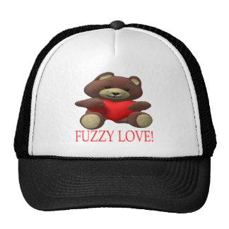 Fuzzy Love Trucker Hat