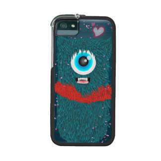 Fuzzy Monster Love iPhone 5/5S Cases