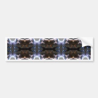 Fuzzy Pattern Bumper Sticker