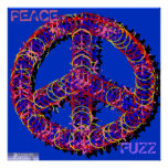 Fuzzy Peace Poster