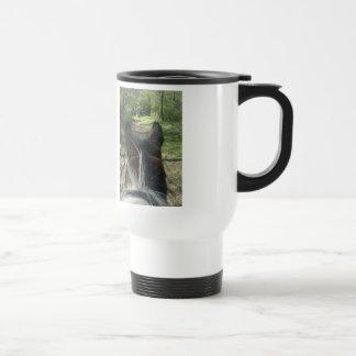 Fuzzy pony Ride Travel Mug