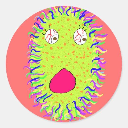 fuzzy poo sticker