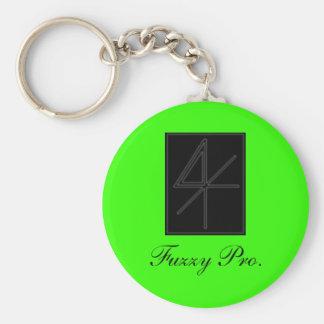 Fuzzy Pro. keychain