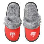 [Crown upside down]  (Fuzzy) Slippers Pair Of Fuzzy Slippers