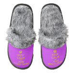 [Smile] keep calm and join moko.mobi  (Fuzzy) Slippers Pair Of Fuzzy Slippers