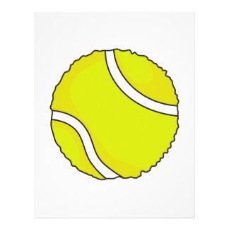 FUZZY TENNIS BALL LETTERHEAD