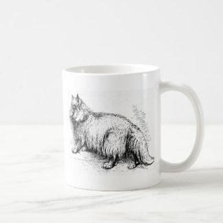 Fuzzy the Cat Artwork Mugs