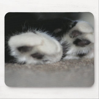 Fuzzy Toes Mouse Pad