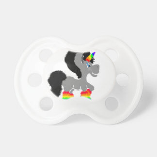 Fuzzy Unicorn Pacifier